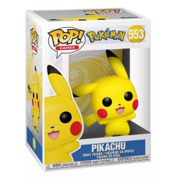 Funko POP! Games 553: Pokémon - Pikachu (Waving) Vinyl Figure