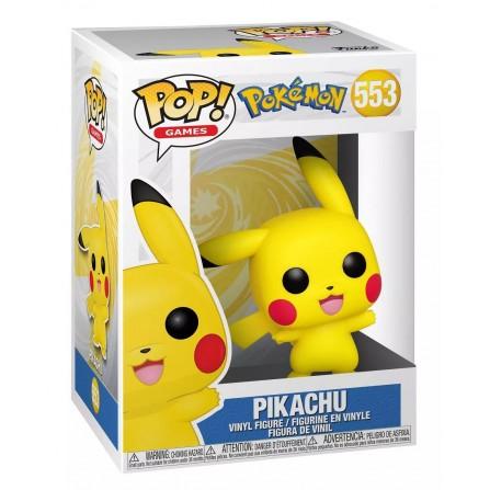 Funko POP! Games 553: Pokémon - Pikachu (Waving) Vinyl Figure
