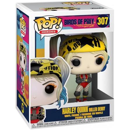 Funko POP! Heroes 307: Birds of Prey - Harley Quinn Roller Derby Vinyl Figure