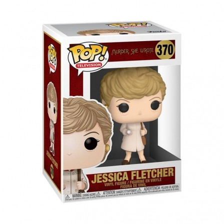 Funko POP! Television 370: Murder She Wrote - Jessica Fletcher (w/ Trenchcoat and Flashlight)