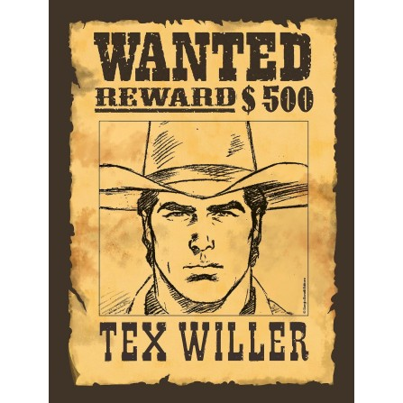 Tex Willer #001 (Variant Taglia)