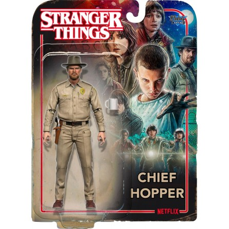 Stranger Things Action Figure: Chief Hopper