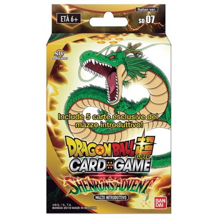Dragon Ball Super Card Game Starter Deck 07 - Shenron's Advent (ITA)