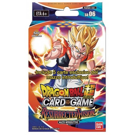Dragon Ball Super Card Game Starter Deck 06 - Resurrected Fusion (ITA)